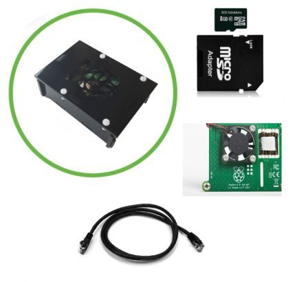 Raspberry Pi 3B+ PoE Hat V2 Starter Kit 2018-2019