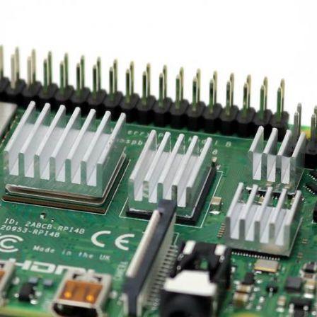 Koelblokjes voor Raspberry Pi 4-Delig - Zilver