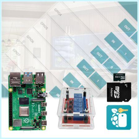 Raspberry Pi Controller Kit Plug&Play|Schakel wat u maar wilt met uw Smartphone (Android)
