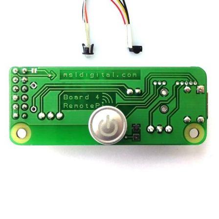 RemotePi Board voor Raspberry Pi 4 (Externe IR en LED)