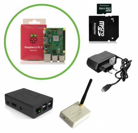 RFXCOM-E Domoticz Starter Kit met Raspberry Pi 3B+