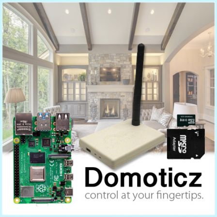 RFXCOM-XL Domoticz Starter Kit met Raspberry Pi 4 2GB / 4GB / 8GB