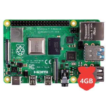 Raspberry Pi 4 Model B / 4GB