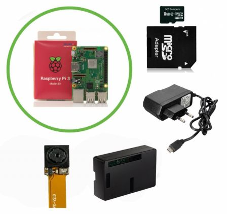 IP Spy Camera Kit met Raspberry Pi 3B+