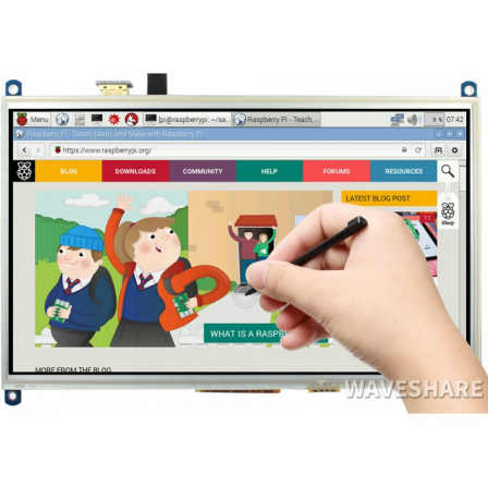 10.1inch Resistive Touch Screen LCD