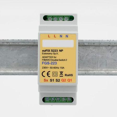 Eutonomy DIN Adapter voor FGS-223 Zonder Knoppen